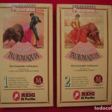 Series de TV: 100 AÑOS DE TAUROMAQUIA EN VHS DE FERNANDO ACHÚCARRO. Lote 177894193