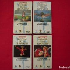 Series de TV: HISTORIA DE LAS OLIMPIADAS - 4 VIDEOS EN VHS. Lote 177895547
