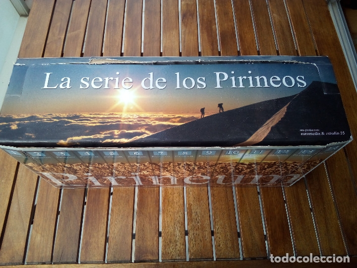 Series de TV: Pirineum - La Serie de los Pirineos COMPLETA (14 VHS + DVD) (Euromedia, 1999) - Foto 5 - 178273767