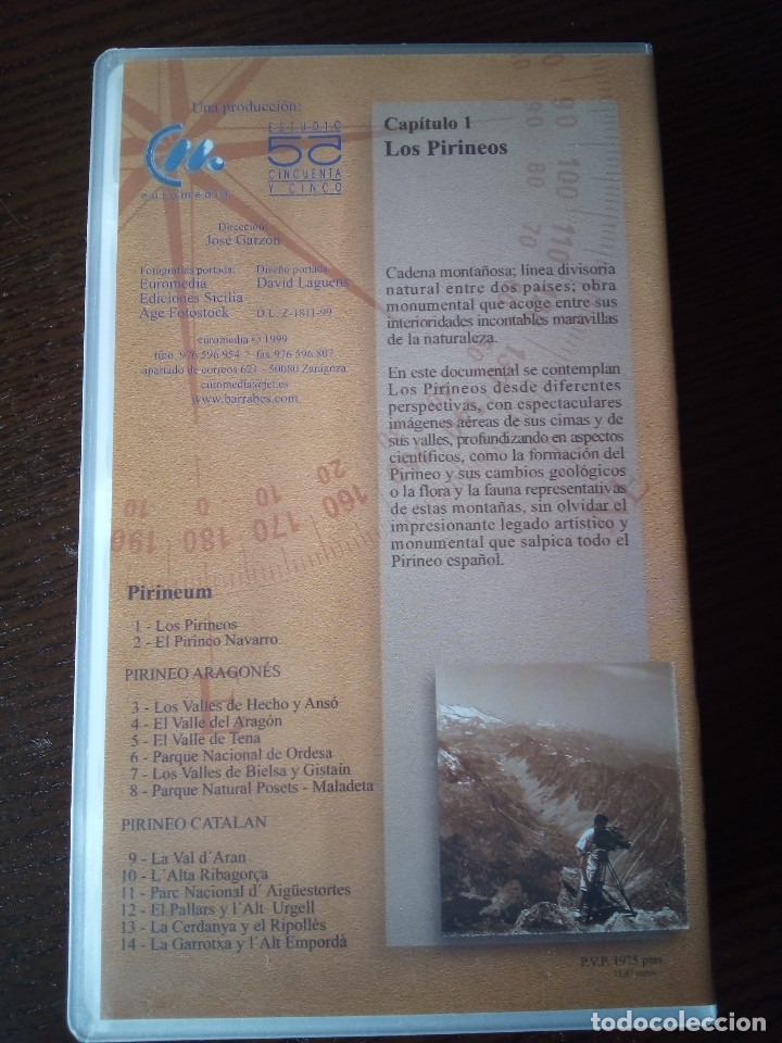 Series de TV: Pirineum - La Serie de los Pirineos COMPLETA (14 VHS + DVD) (Euromedia, 1999) - Foto 9 - 178273767