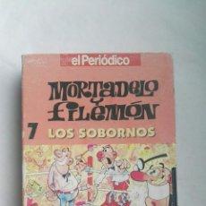 Series de TV: MORTADELO Y FILEMÓN LOS SOBORNOS VHS. Lote 179050743