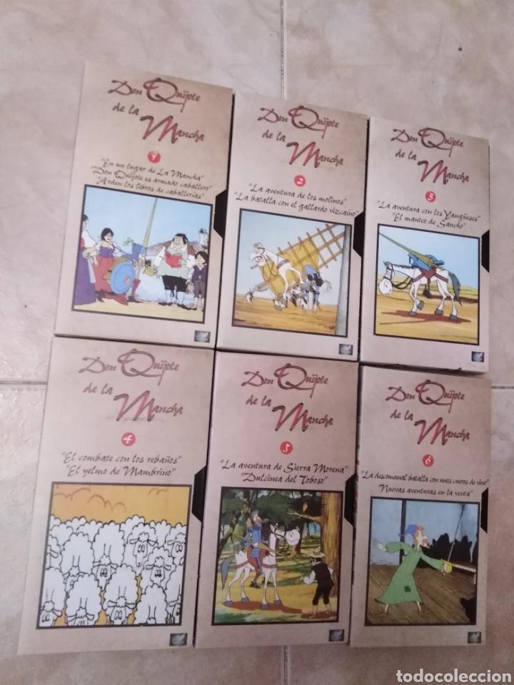 Series de TV: Serie TV dibujos D. Quijote de la Mancha ( caja de 18 vhs ) - Foto 6 - 181401837