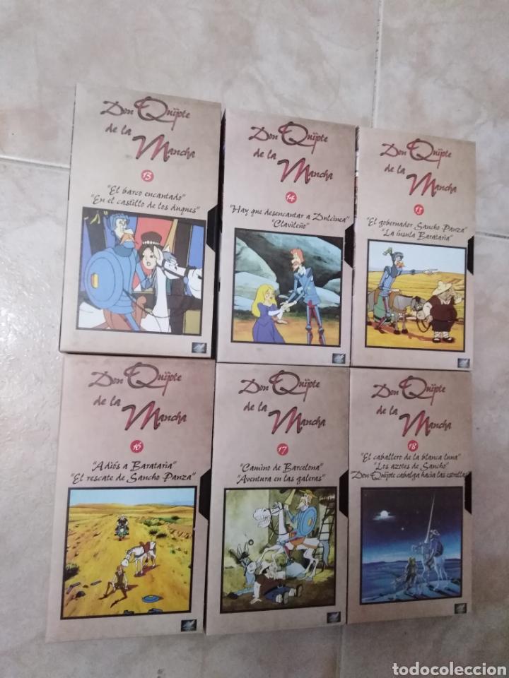 Series de TV: Serie TV dibujos D. Quijote de la Mancha ( caja de 18 vhs ) - Foto 8 - 181401837