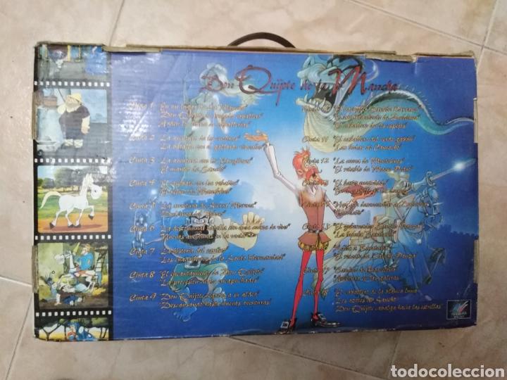Series de TV: Serie TV dibujos D. Quijote de la Mancha ( caja de 18 vhs ) - Foto 9 - 181401837