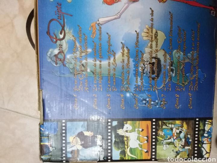 Series de TV: Serie TV dibujos D. Quijote de la Mancha ( caja de 18 vhs ) - Foto 10 - 181401837