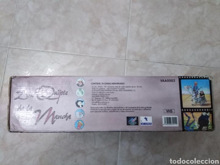Series de TV: Serie TV dibujos D. Quijote de la Mancha ( caja de 18 vhs ) - Foto 14 - 181401837