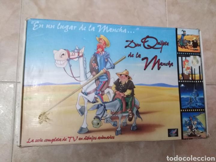 SERIE TV DIBUJOS D. QUIJOTE DE LA MANCHA ( CAJA DE 18 VHS ) (Series TV en VHS )