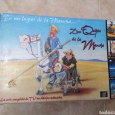 Series de TV: SERIE TV DIBUJOS D. QUIJOTE DE LA MANCHA ( CAJA DE 18 VHS ). Lote 181401837