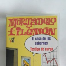 Series de TV: MORTADELO Y FILEMÓN EL CASO DE LOS SOBORNOS VHS. Lote 182127896