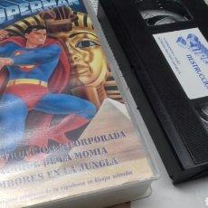 Series de TV: SUPERMAN. FLEISCHER STUDIOS. 3 CORTOS DE LOS AÑOS 1942 Y 1943. VHS. Lote 185985030