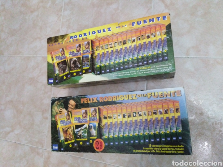 Series de TV: Féliz Rodríguez de la fuente serie TV completa en VHS (36 cintas en total ) - Foto 2 - 186179682