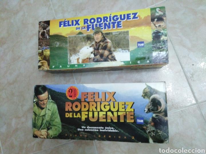 FÉLIZ RODRÍGUEZ DE LA FUENTE SERIE TV COMPLETA EN VHS (36 CINTAS EN TOTAL ) (Series TV en VHS )