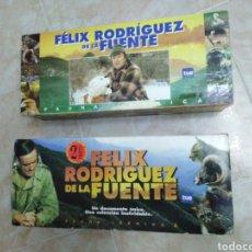 Series de TV: FÉLIZ RODRÍGUEZ DE LA FUENTE SERIE TV COMPLETA EN VHS (36 CINTAS EN TOTAL ). Lote 186179682