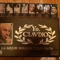 Series de TV: SERIE YO CLAUDIO EN VHS COMPLETA. Lote 187106635