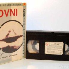 Series de TV: OVNI, UN MISTERIO SIN RESOLVER. VHS. Lote 187310268