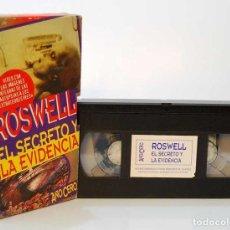 Series de TV: ROSWELL. EL SECRETO Y LA EVIDENCIA. VHS. Lote 187321388