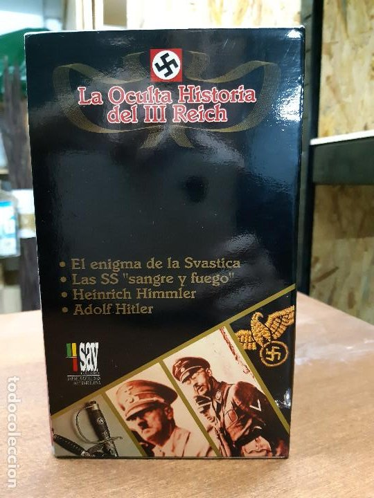 Series de TV: VHS. Serie de Documentales Historia Oculta del III Reich (SAV, 1992) - Foto 9 - 150139790
