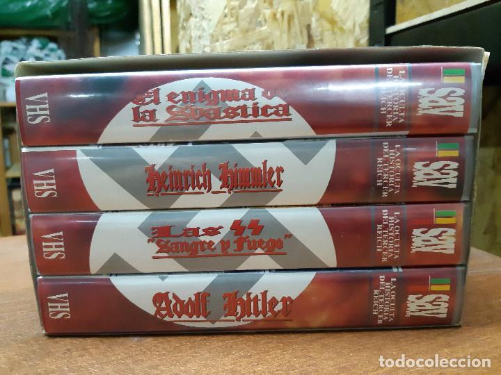 Series de TV: VHS. Serie de Documentales Historia Oculta del III Reich (SAV, 1992) - Foto 2 - 150139790