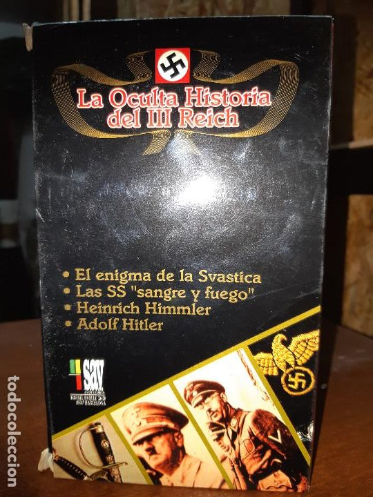 Series de TV: VHS. Serie de Documentales Historia Oculta del III Reich (SAV, 1992) - Foto 10 - 150139790