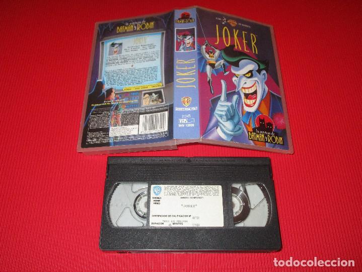 JOKER - VHS - SHV 13900 - WARNER BROS - LAS AVENTURAS DE BATMAN Y ROBIN (Series TV en VHS )