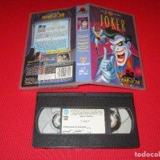 Series de TV: JOKER - VHS - SHV 13900 - WARNER BROS - LAS AVENTURAS DE BATMAN Y ROBIN. Lote 192276163