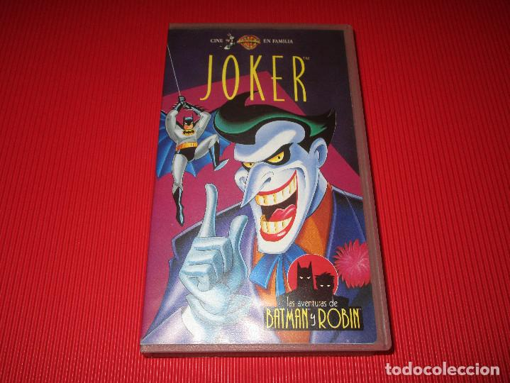Series de TV: JOKER - VHS - SHV 13900 - WARNER BROS - LAS AVENTURAS DE BATMAN Y ROBIN - Foto 2 - 192276163