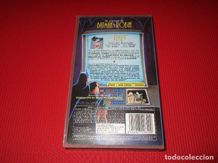 Series de TV: JOKER - VHS - SHV 13900 - WARNER BROS - LAS AVENTURAS DE BATMAN Y ROBIN - Foto 3 - 192276163