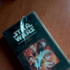 Series de TV: STAR WARS - LA AMENAZA FANTASMA SIN ABRIR VHS. Lote 192832966