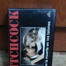 Series de TV: VHS CON LA MUERTE EN LOS TALONES ALFRED HITCHCOOK CARY GRANT EVA MARIE SAINT JAMES MASON MGM 1992. Lote 193187910