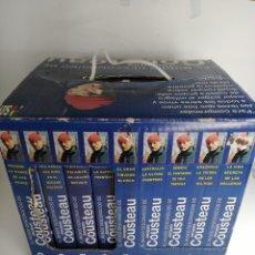 Series de TV: COLECCION VHS EL MUNDO DESCONOCIDO DE JACQUES COUSTEAU S.A.V. Lote 193293873