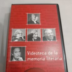 Series de TV: EDITRAMA VIDEOTEXMCA MEMORIA LITERARIA SANTILLANA. Lote 193305465