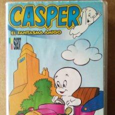 Series de TV: VHS CASPER EL FANTASMA AMIGO VOLUMEN 1: CASPER, PAYASO POR UN DÍA (SAC/HARVEY, 1994). 8 EPISODIOS.. Lote 194156000