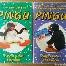 Series de TV: LOTE VHS LAS AVENTURAS DE PINGU: PINGU Y SU FAMILIA/PINGU SE VA AL CARIBE (BMG, 1996-1997).. Lote 194156043