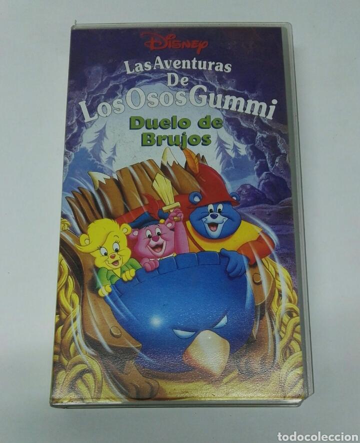 LAS AVENTURAS DE LOS OSOS GUMMI VHS DUELO DE BRUJOS DISNEY (Series TV en VHS )
