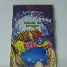Series de TV: LAS AVENTURAS DE LOS OSOS GUMMI VHS DUELO DE BRUJOS DISNEY. Lote 194168456