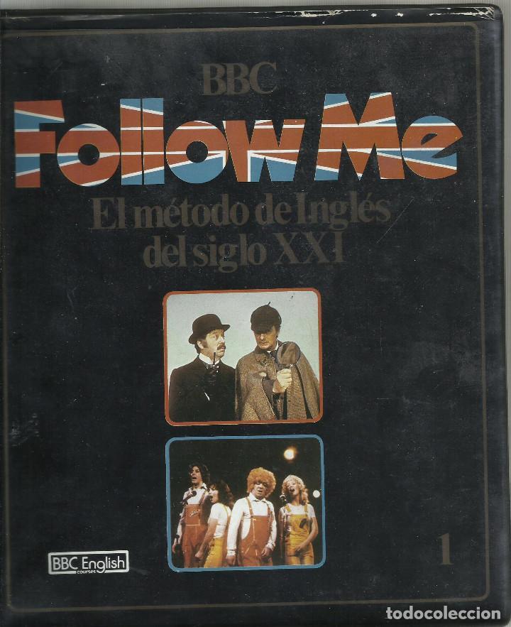 FOLLOW ME, EL METODO DE INGLES DEL SIGLO XXI. VOL.1 1985 VHS (Series TV en VHS )