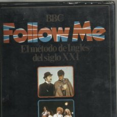 Series de TV: FOLLOW ME, EL METODO DE INGLES DEL SIGLO XXI. VOL.1 1985. Lote 194658195