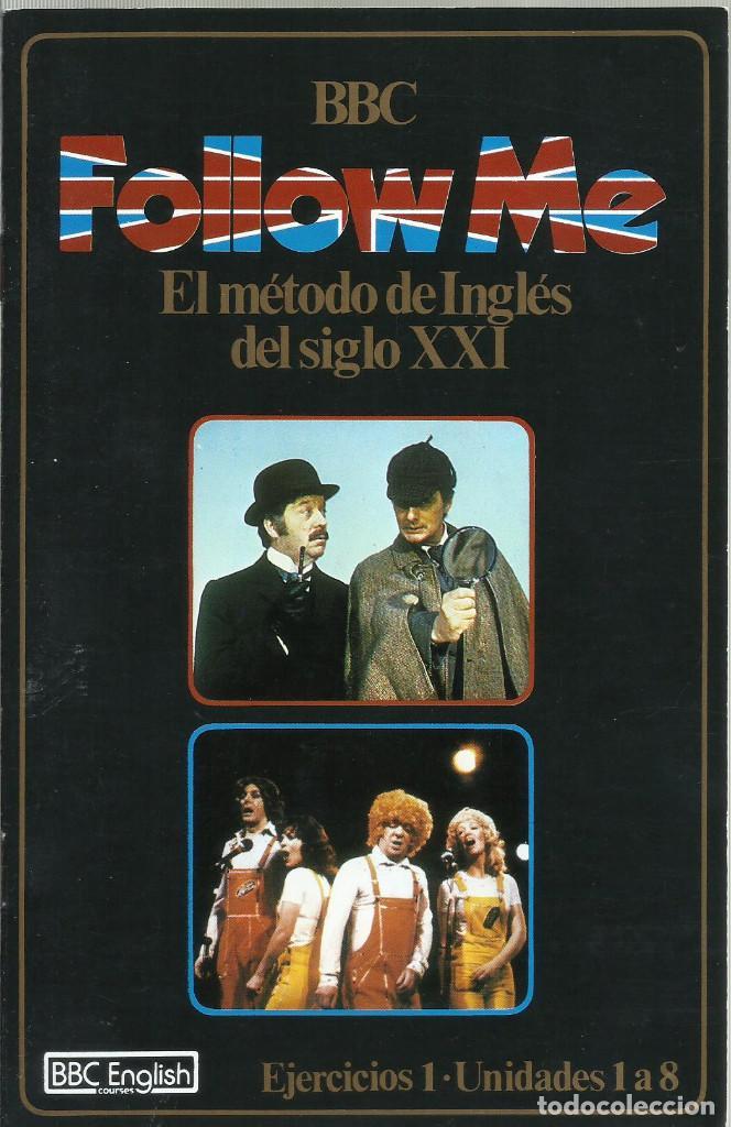 Series de TV: Follow Me, El metodo de Ingles del siglo XXI. Vol.1 1985 VHS - Foto 4 - 194658195