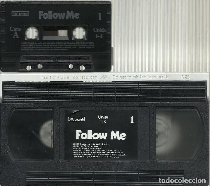Series de TV: Follow Me, El metodo de Ingles del siglo XXI. Vol.1 1985 VHS - Foto 5 - 194658195