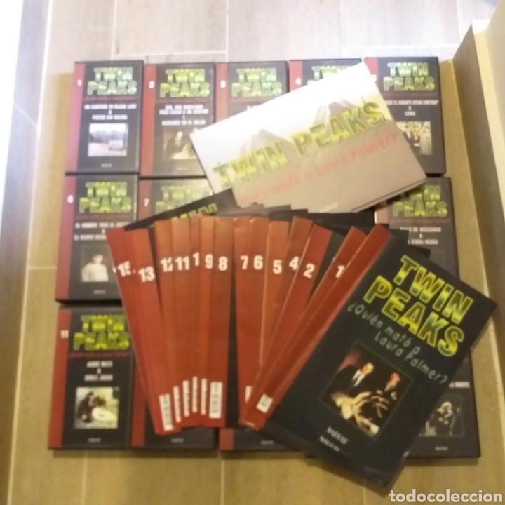 TWIN PEAKS.FASCÍCULOS QUE ACOMPAÑABAN LOS VHS.CON SU CAJA-ARCHIVADOR.COMPLETOS (15) (Series TV en VHS )