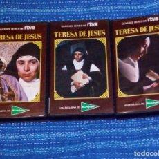 Series de TV: VENDO SERIE COMPLETA EN VHS (TERESA DE JESÚS), VER MAS FOTOS.. Lote 197266250
