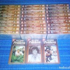 Series de TV: VENDO SERIE COMPLETA 30 CINTAS VHS (LA CASA DE LA PRADERA) REGALO 2 CINTAS VIRGENES VHS, (VER FOTOS). Lote 197660688
