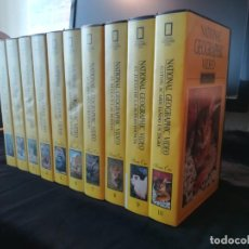 Series de TV: NATIONAL GEOGRAPHIC VIDEO. SERIE ORO.. Lote 198248386