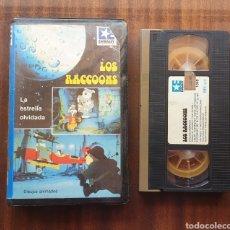 Series de TV: VHS - LOS RACCOONS - SERIE DE DIBUJOS, MUY RARA!!. Lote 199931517