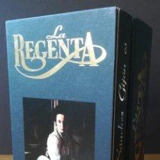 Series de TV: SERIE DE TV 'LA REGENTA', CON AITANA SÁNCHEZ-GIJÓN. ESTUCHE CON 3 VHS. CON PRECINTO.. Lote 24609849