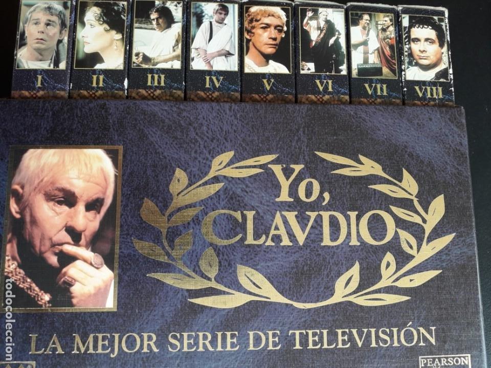 SERIE DE TELEVISION, YO CLAUDIO (Series TV en VHS )