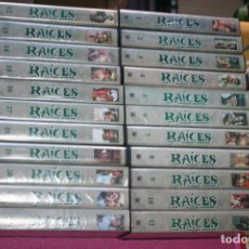 Series de TV: RAICES ¨** LOTE 22 VHS CINE DRAMA / ESCLAVITUD ** SERIE TV ** ADAPTACIONES DE ALEX HALEY. Lote 202473626