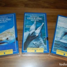 Series de TV: NATIONAL GEOGRAPHIC -NATURALEZA AZUL-. Lote 204195768