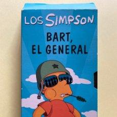 Series de TV: PELÍCULA VHS. BART SIMPSON. LOS SIMPSONS. BART, EL GENERAL. Lote 204380118