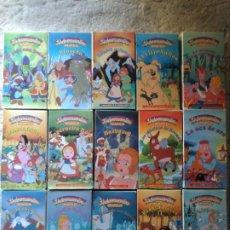 Séries de TV: LOTE 15 CINTAS VHS VIDEOCUENTOS INFANTILES. Lote 205000303